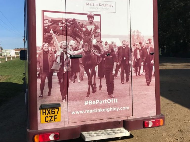 horsebox at Martin Keighley Racing