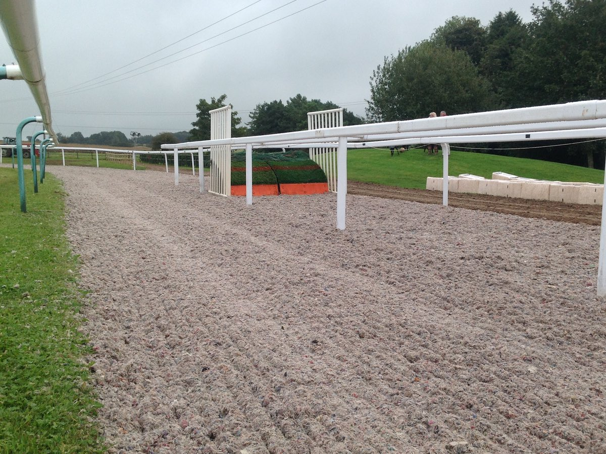 schooling fences at Martin Keighley Racing