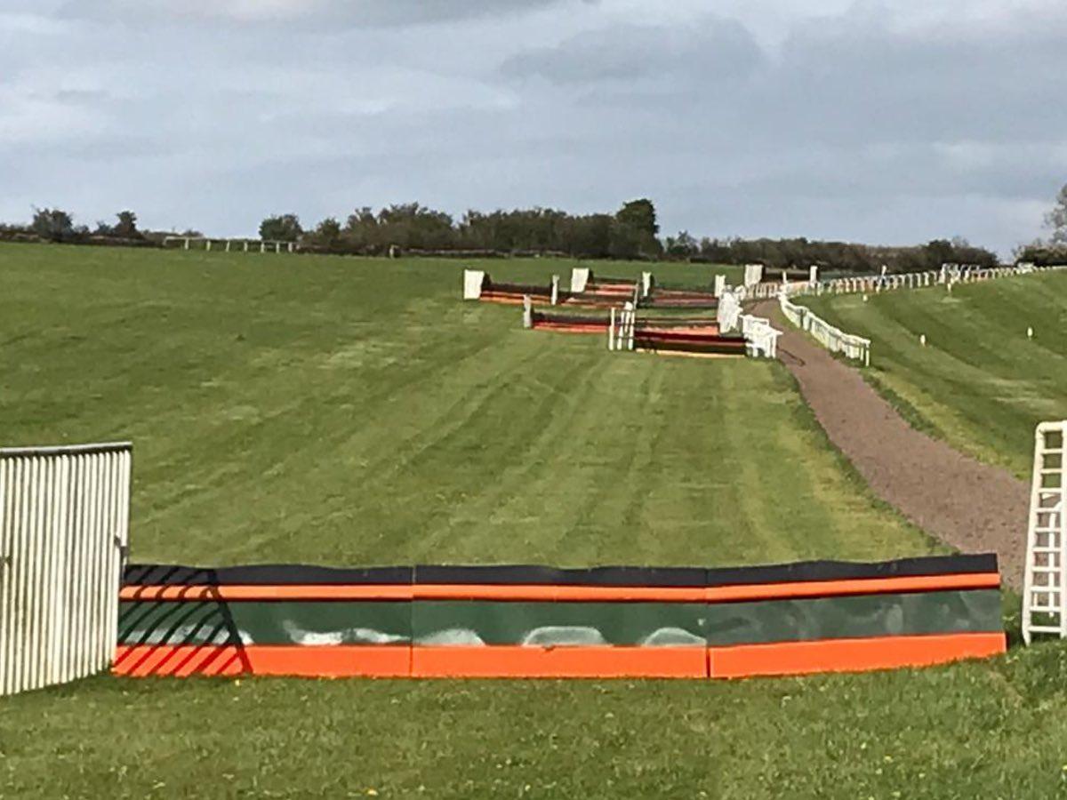 schooling fences at cheltenham winning trainer martin keighley